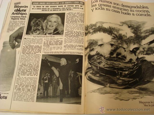 Coleccionismo de Revista Hola: GINGER ROGERS - Foto 5 - 45872124