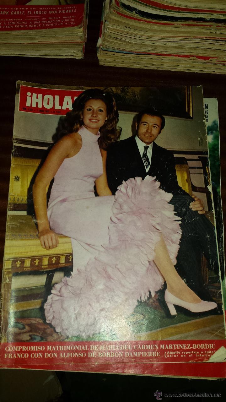 Coleccionismo de Revista Hola: Lote 114 revistas HOLA años 60, 70 y 3 de principios de los 80 - Ver detalles se venden sueltas 5€ - Foto 7 - 117723528