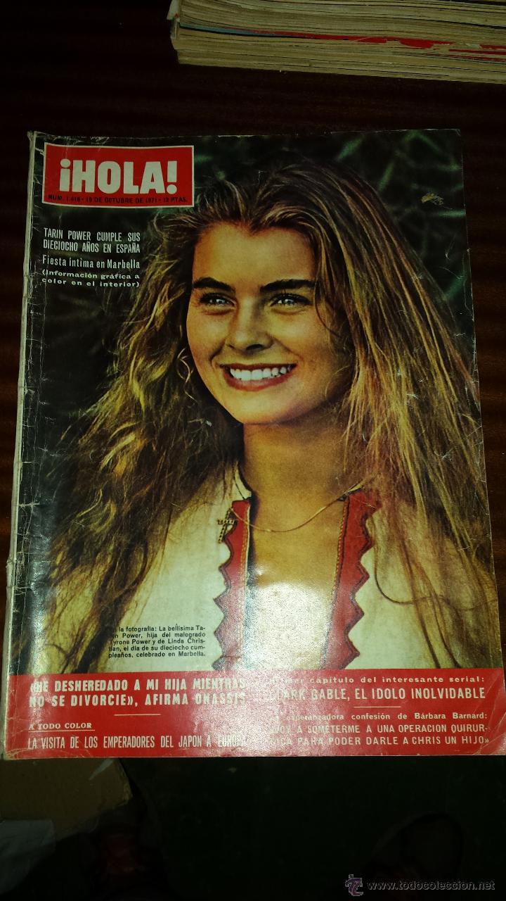 Coleccionismo de Revista Hola: Lote 114 revistas HOLA años 60, 70 y 3 de principios de los 80 - Ver detalles se venden sueltas 5€ - Foto 8 - 117723528