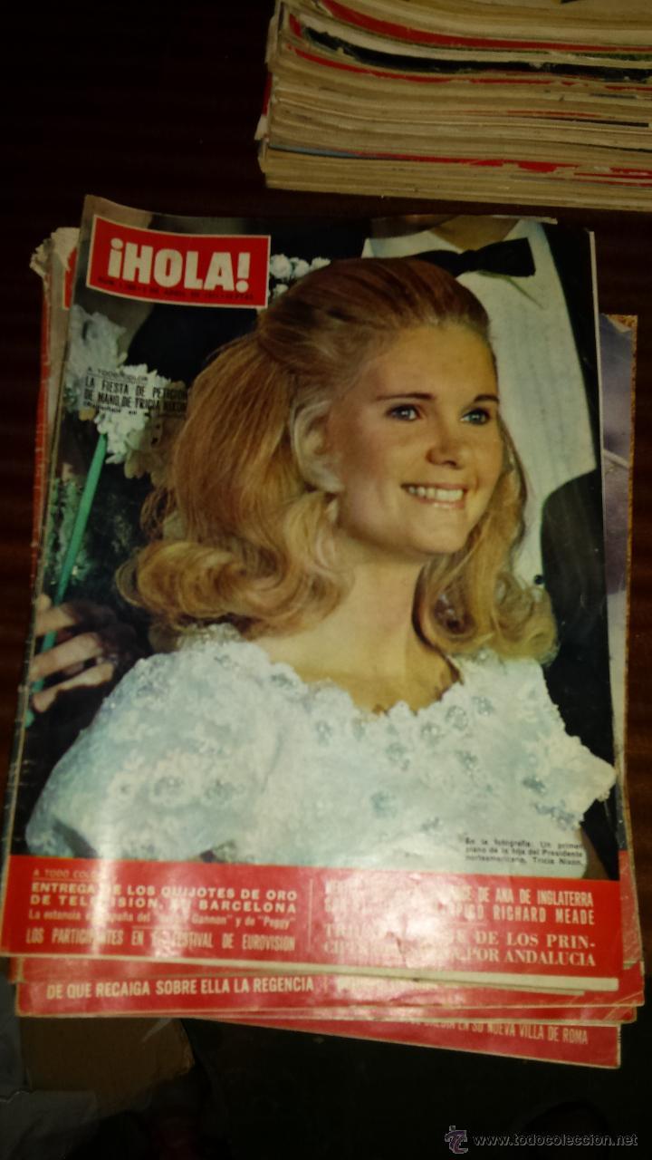 Coleccionismo de Revista Hola: Lote 114 revistas HOLA años 60, 70 y 3 de principios de los 80 - Ver detalles se venden sueltas 5€ - Foto 14 - 117723528
