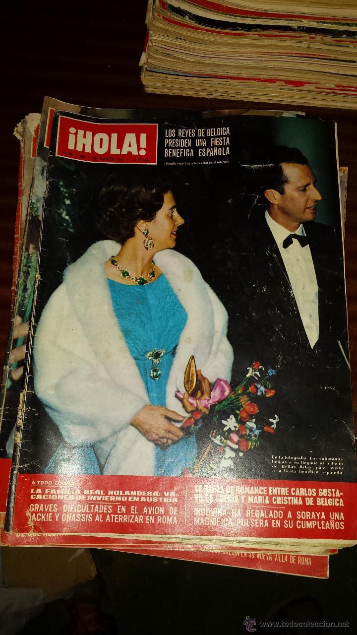 Coleccionismo de Revista Hola: Lote 114 revistas HOLA años 60, 70 y 3 de principios de los 80 - Ver detalles se venden sueltas 5€ - Foto 15 - 117723528
