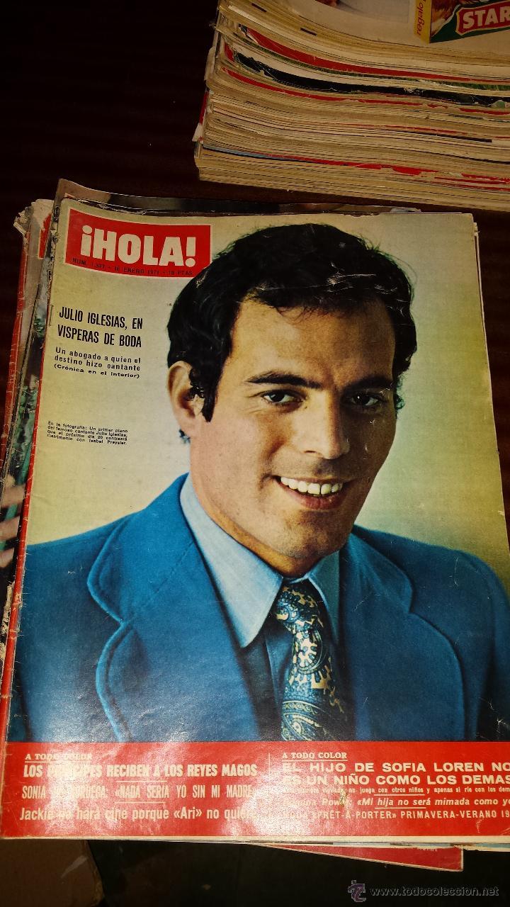 Coleccionismo de Revista Hola: Lote 114 revistas HOLA años 60, 70 y 3 de principios de los 80 - Ver detalles se venden sueltas 5€ - Foto 19 - 117723528