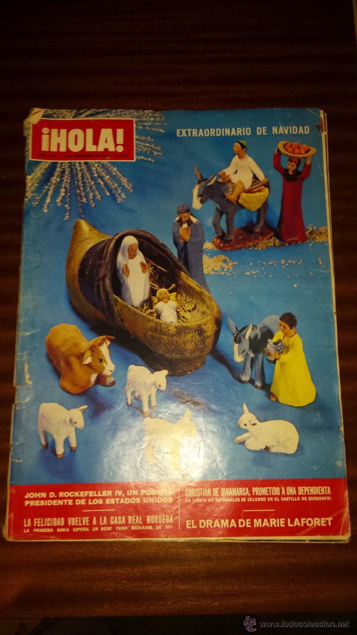 Coleccionismo de Revista Hola: Lote 114 revistas HOLA años 60, 70 y 3 de principios de los 80 - Ver detalles se venden sueltas 5€ - Foto 20 - 117723528
