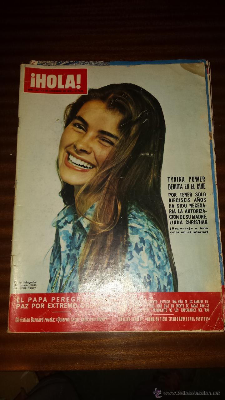 Coleccionismo de Revista Hola: Lote 114 revistas HOLA años 60, 70 y 3 de principios de los 80 - Ver detalles se venden sueltas 5€ - Foto 21 - 117723528