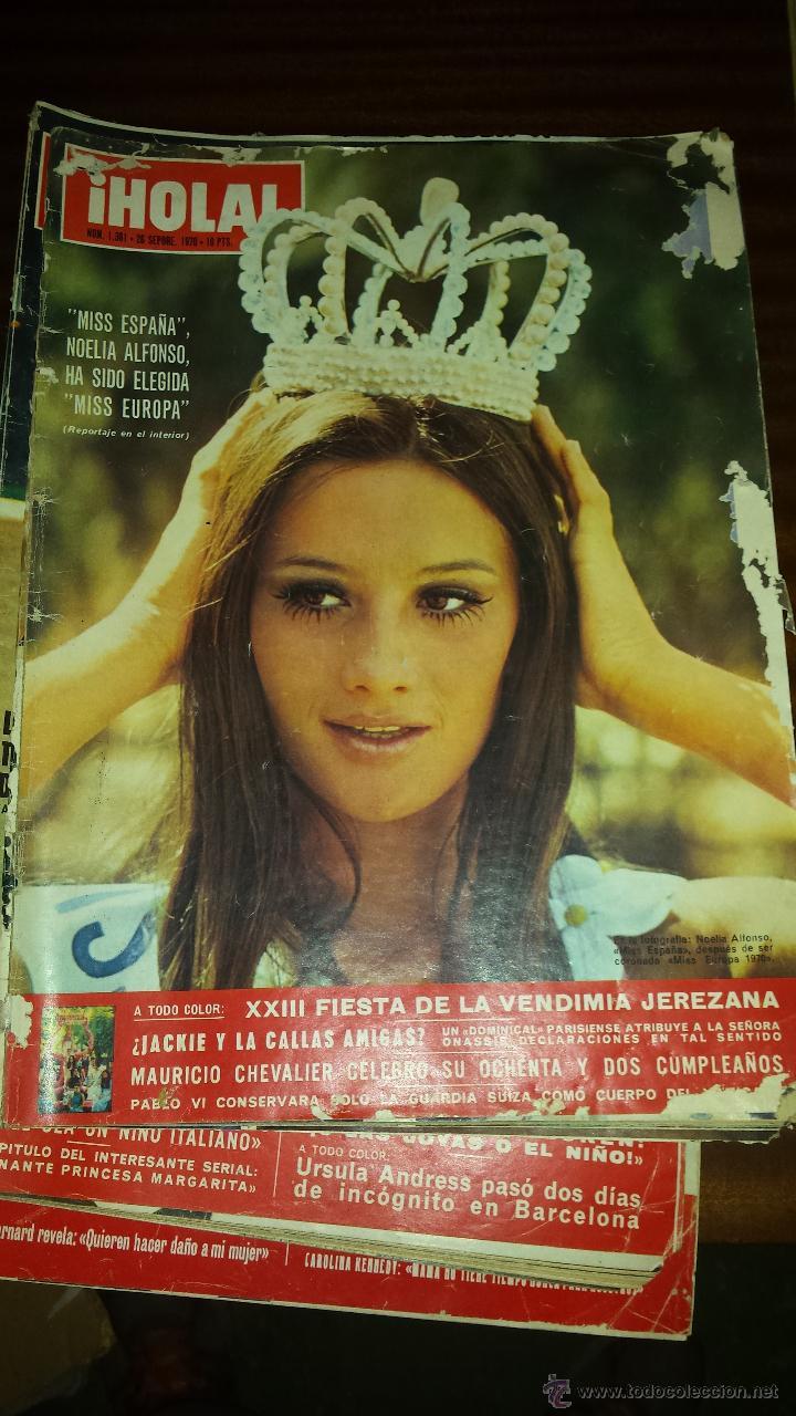 Coleccionismo de Revista Hola: Lote 114 revistas HOLA años 60, 70 y 3 de principios de los 80 - Ver detalles se venden sueltas 5€ - Foto 28 - 117723528