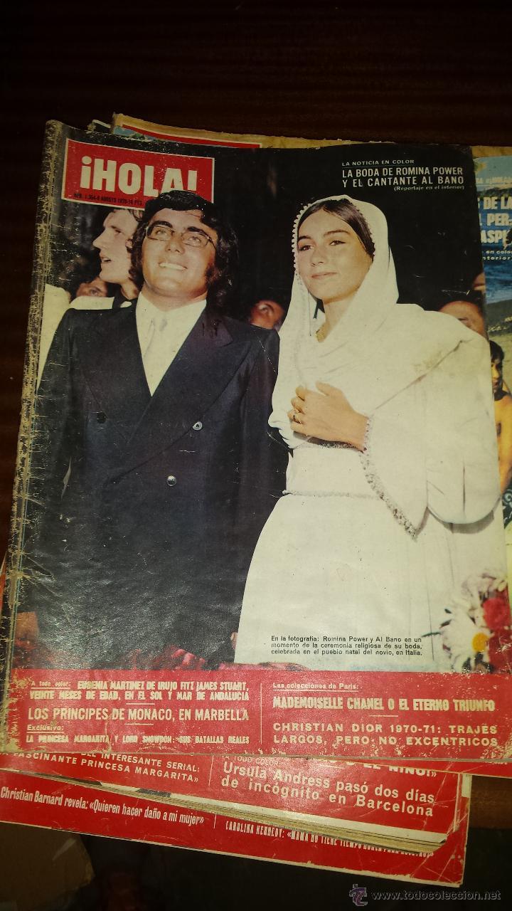 Coleccionismo de Revista Hola: Lote 114 revistas HOLA años 60, 70 y 3 de principios de los 80 - Ver detalles se venden sueltas 5€ - Foto 31 - 117723528