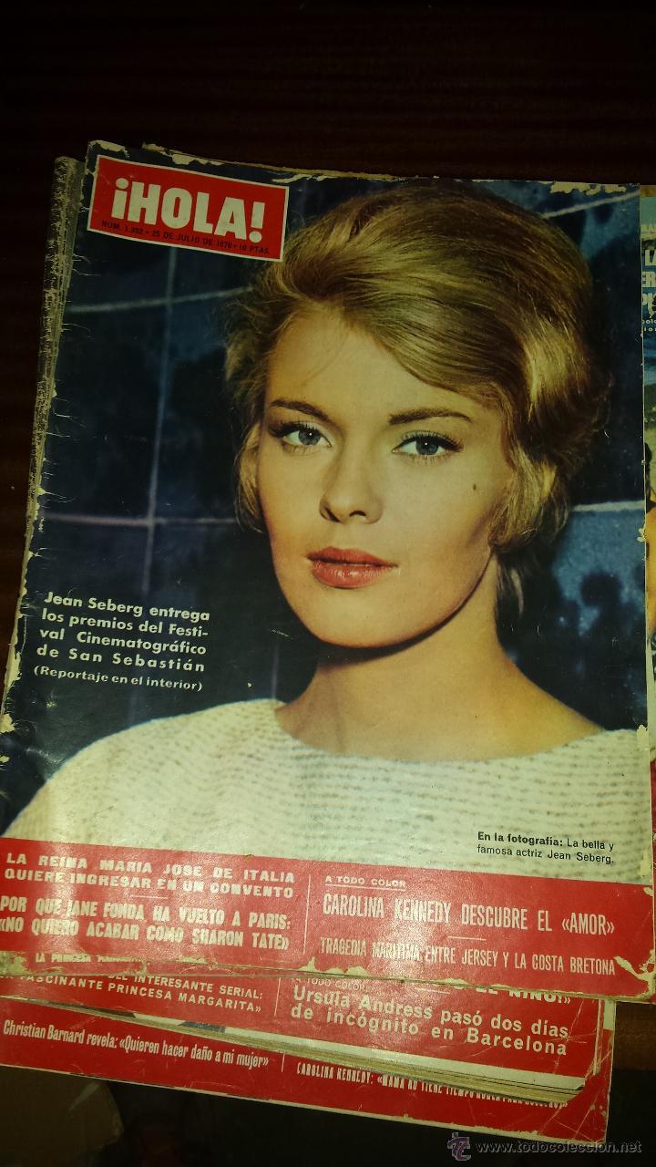 Coleccionismo de Revista Hola: Lote 114 revistas HOLA años 60, 70 y 3 de principios de los 80 - Ver detalles se venden sueltas 5€ - Foto 32 - 117723528