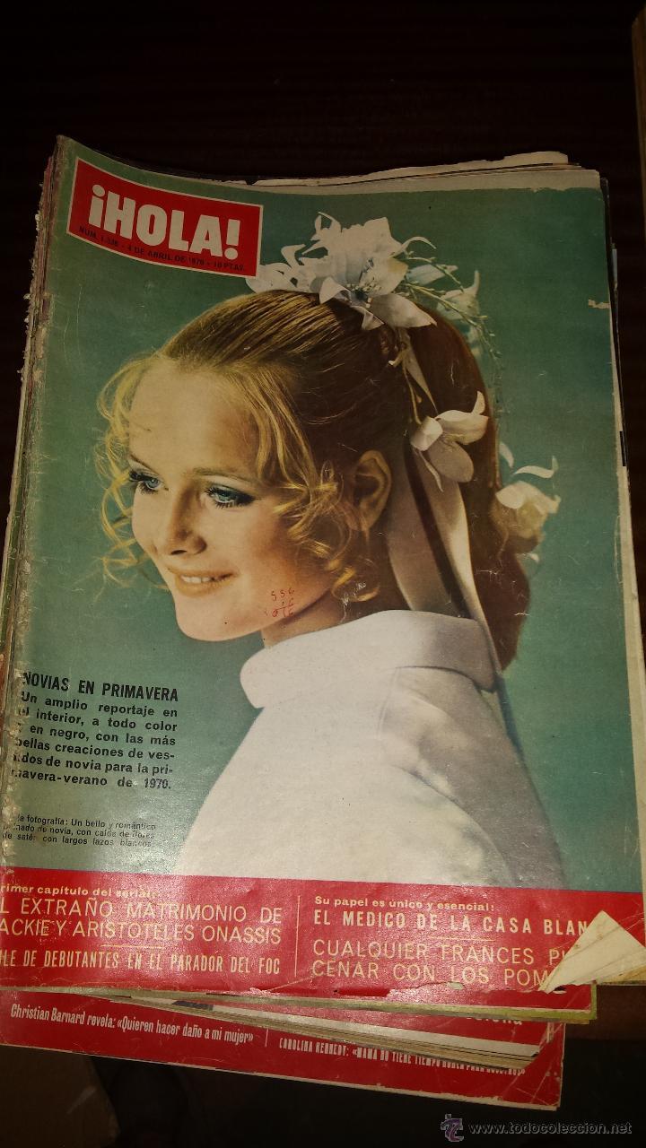 Coleccionismo de Revista Hola: Lote 114 revistas HOLA años 60, 70 y 3 de principios de los 80 - Ver detalles se venden sueltas 5€ - Foto 43 - 117723528
