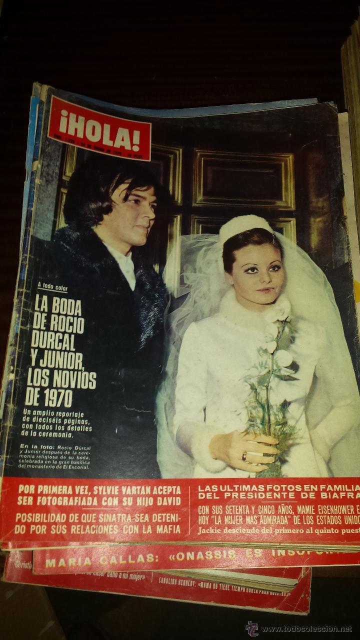 Coleccionismo de Revista Hola: Lote 114 revistas HOLA años 60, 70 y 3 de principios de los 80 - Ver detalles se venden sueltas 5€ - Foto 49 - 117723528