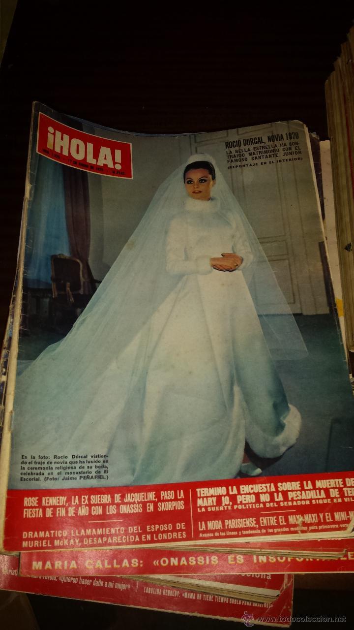 Coleccionismo de Revista Hola: Lote 114 revistas HOLA años 60, 70 y 3 de principios de los 80 - Ver detalles se venden sueltas 5€ - Foto 50 - 117723528