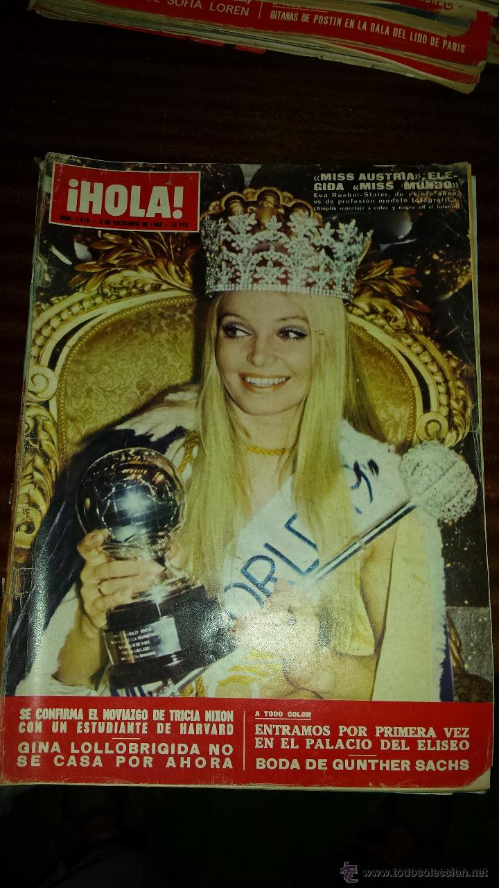 Coleccionismo de Revista Hola: Lote 114 revistas HOLA años 60, 70 y 3 de principios de los 80 - Ver detalles se venden sueltas 5€ - Foto 53 - 117723528