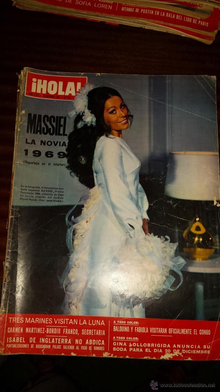 Coleccionismo de Revista Hola: Lote 114 revistas HOLA años 60, 70 y 3 de principios de los 80 - Ver detalles se venden sueltas 5€ - Foto 54 - 117723528