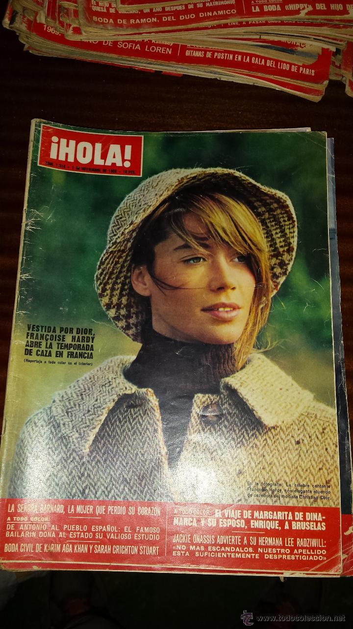 Coleccionismo de Revista Hola: Lote 114 revistas HOLA años 60, 70 y 3 de principios de los 80 - Ver detalles se venden sueltas 5€ - Foto 57 - 117723528
