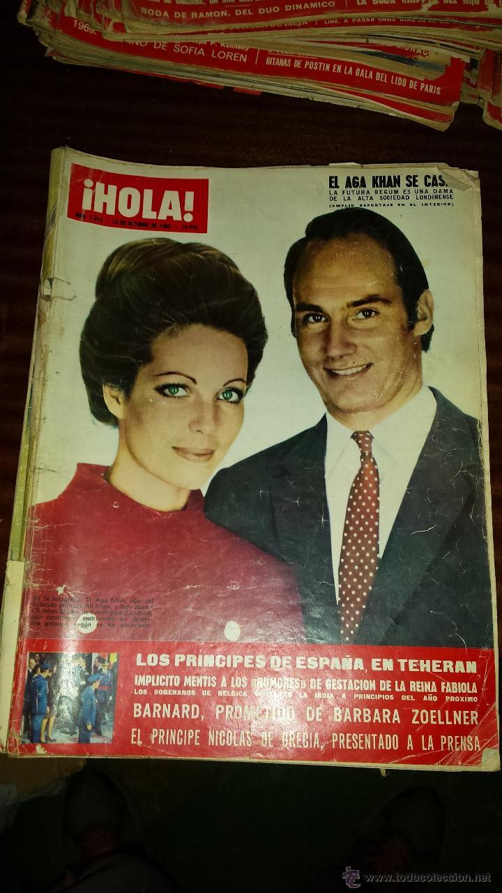 Coleccionismo de Revista Hola: Lote 114 revistas HOLA años 60, 70 y 3 de principios de los 80 - Ver detalles se venden sueltas 5€ - Foto 58 - 117723528