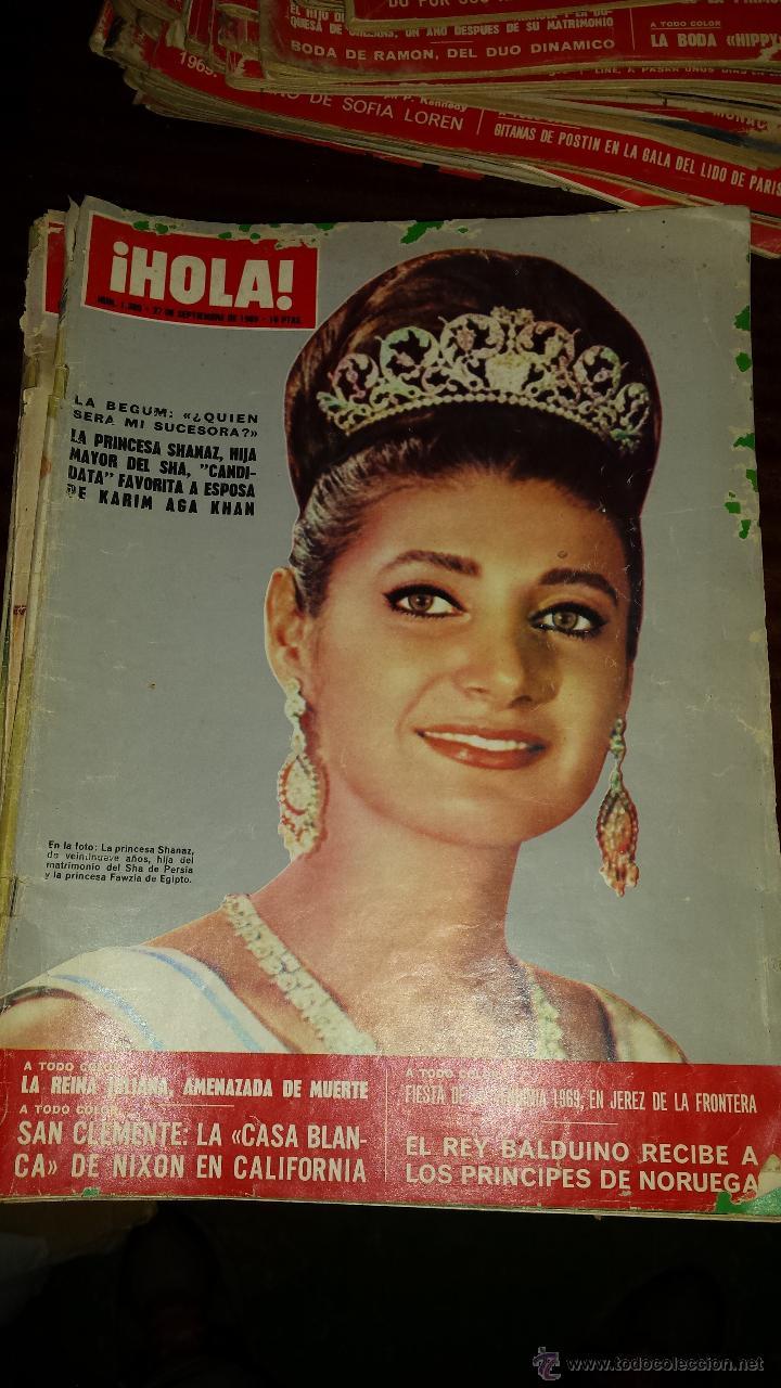 Coleccionismo de Revista Hola: Lote 114 revistas HOLA años 60, 70 y 3 de principios de los 80 - Ver detalles se venden sueltas 5€ - Foto 60 - 117723528