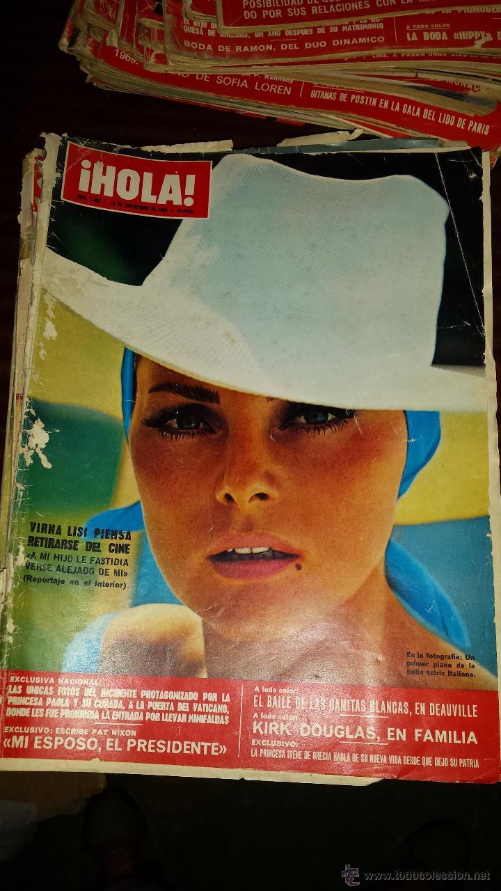 Coleccionismo de Revista Hola: Lote 114 revistas HOLA años 60, 70 y 3 de principios de los 80 - Ver detalles se venden sueltas 5€ - Foto 62 - 117723528