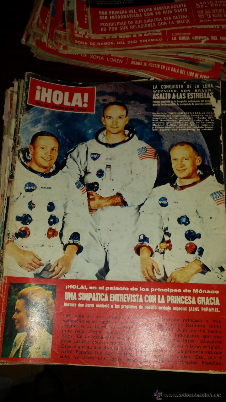Coleccionismo de Revista Hola: Lote 114 revistas HOLA años 60, 70 y 3 de principios de los 80 - Ver detalles se venden sueltas 5€ - Foto 67 - 117723528
