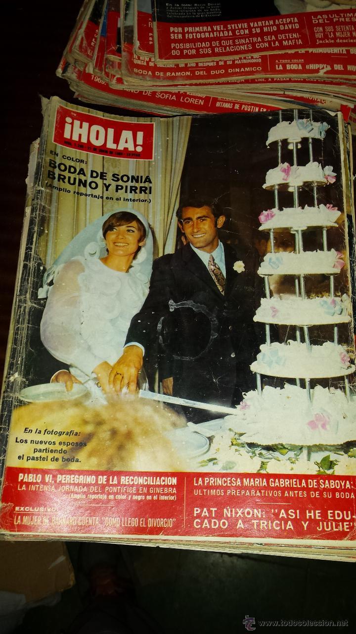 Coleccionismo de Revista Hola: Lote 114 revistas HOLA años 60, 70 y 3 de principios de los 80 - Ver detalles se venden sueltas 5€ - Foto 70 - 117723528