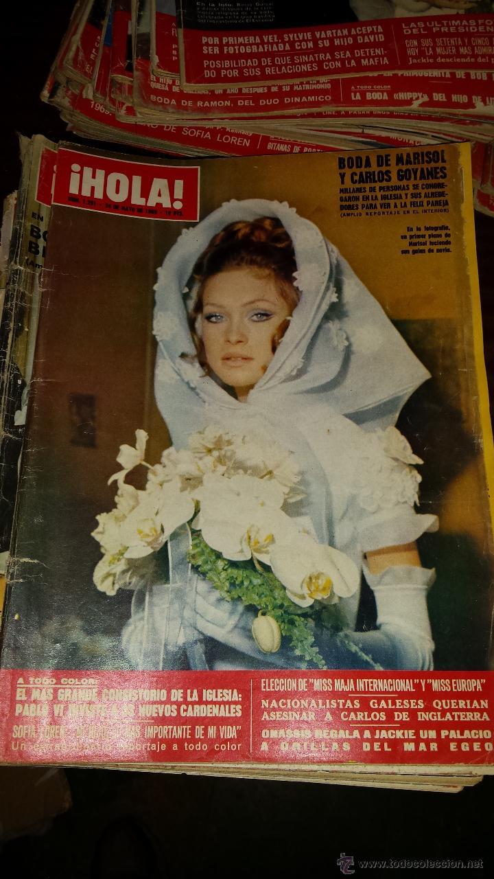 Coleccionismo de Revista Hola: Lote 114 revistas HOLA años 60, 70 y 3 de principios de los 80 - Ver detalles se venden sueltas 5€ - Foto 71 - 117723528
