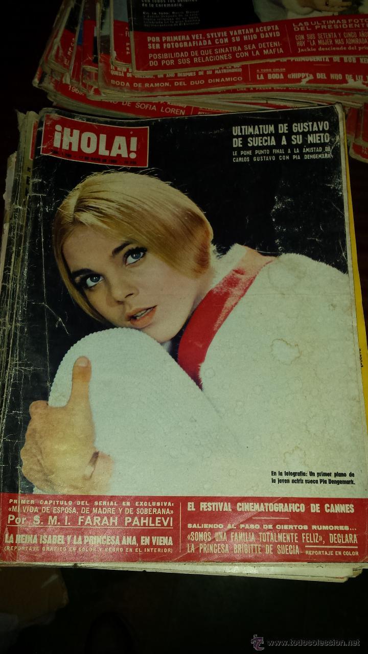 Coleccionismo de Revista Hola: Lote 114 revistas HOLA años 60, 70 y 3 de principios de los 80 - Ver detalles se venden sueltas 5€ - Foto 72 - 117723528