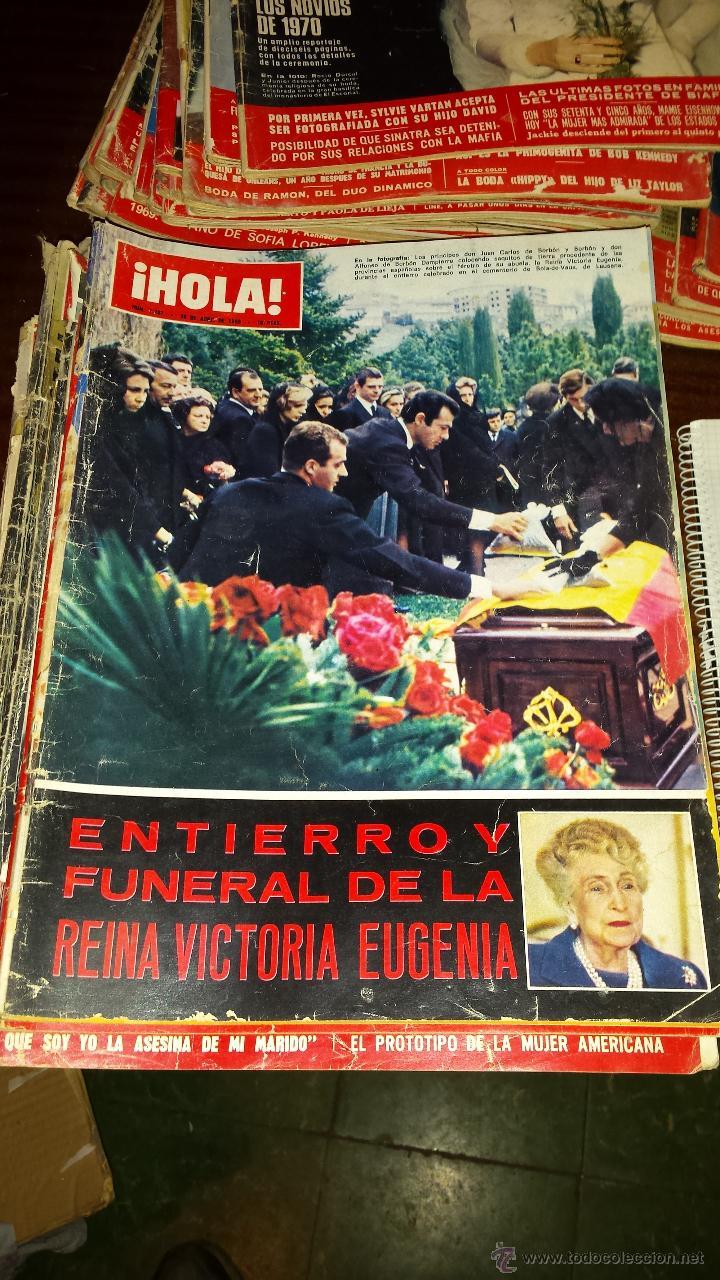 Coleccionismo de Revista Hola: Lote 114 revistas HOLA años 60, 70 y 3 de principios de los 80 - Ver detalles se venden sueltas 5€ - Foto 75 - 117723528