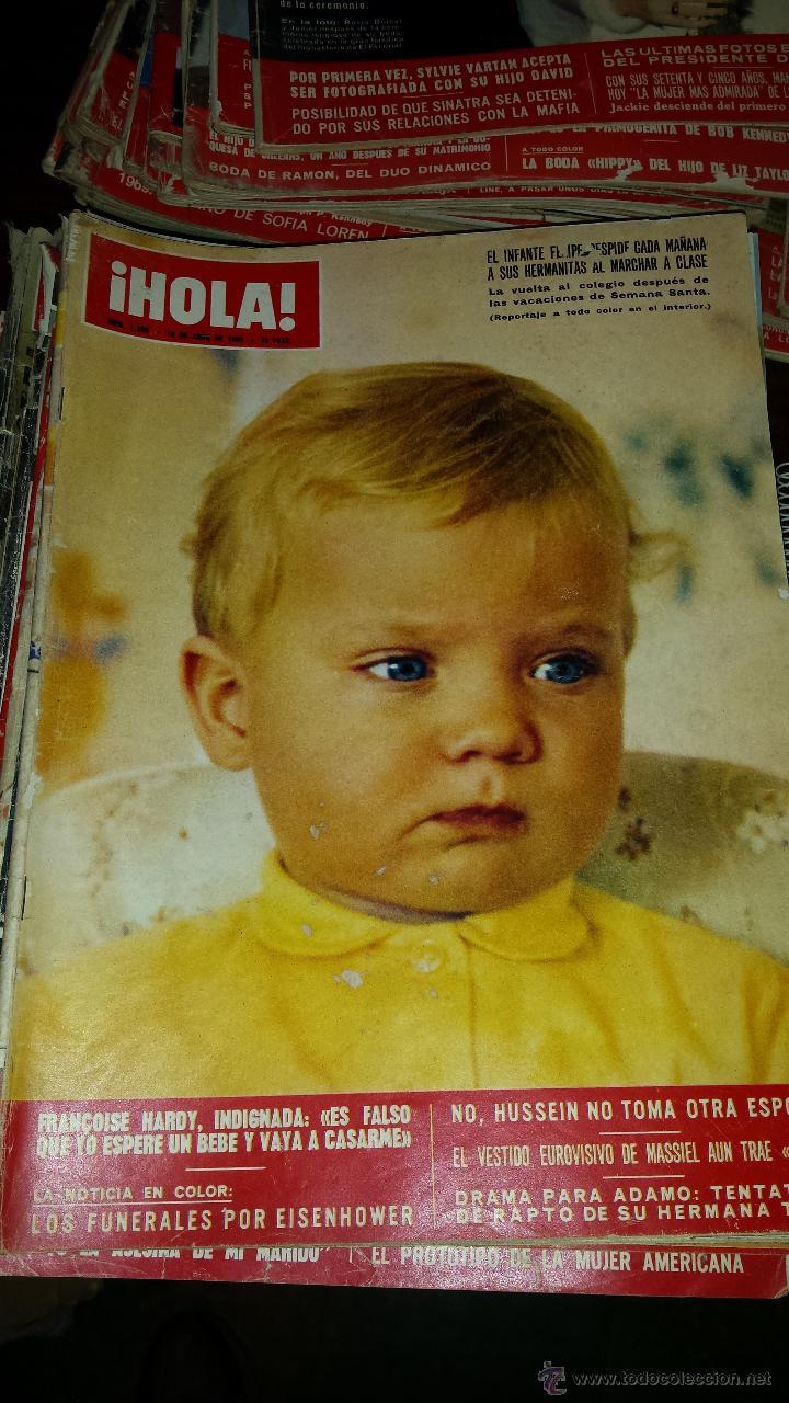Coleccionismo de Revista Hola: Lote 114 revistas HOLA años 60, 70 y 3 de principios de los 80 - Ver detalles se venden sueltas 5€ - Foto 76 - 117723528