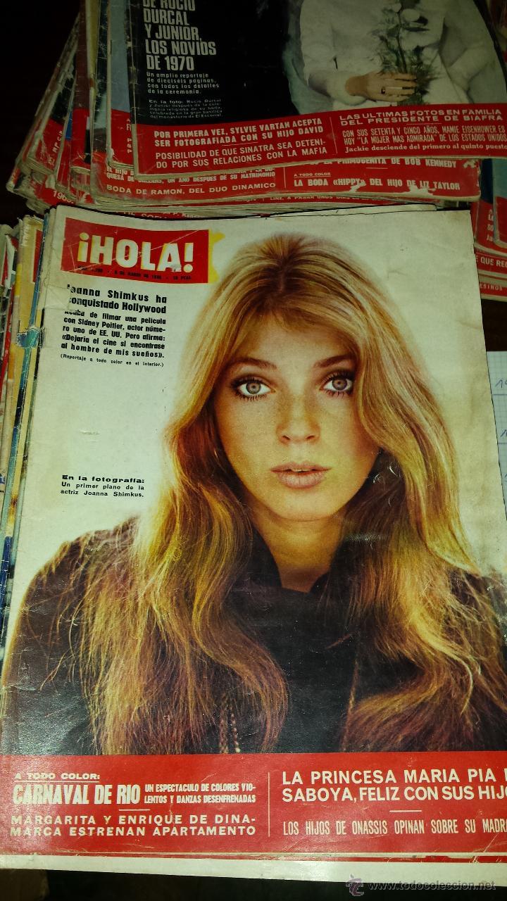 Coleccionismo de Revista Hola: Lote 114 revistas HOLA años 60, 70 y 3 de principios de los 80 - Ver detalles se venden sueltas 5€ - Foto 79 - 117723528