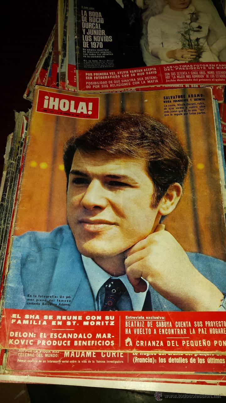 Coleccionismo de Revista Hola: Lote 114 revistas HOLA años 60, 70 y 3 de principios de los 80 - Ver detalles se venden sueltas 5€ - Foto 81 - 117723528
