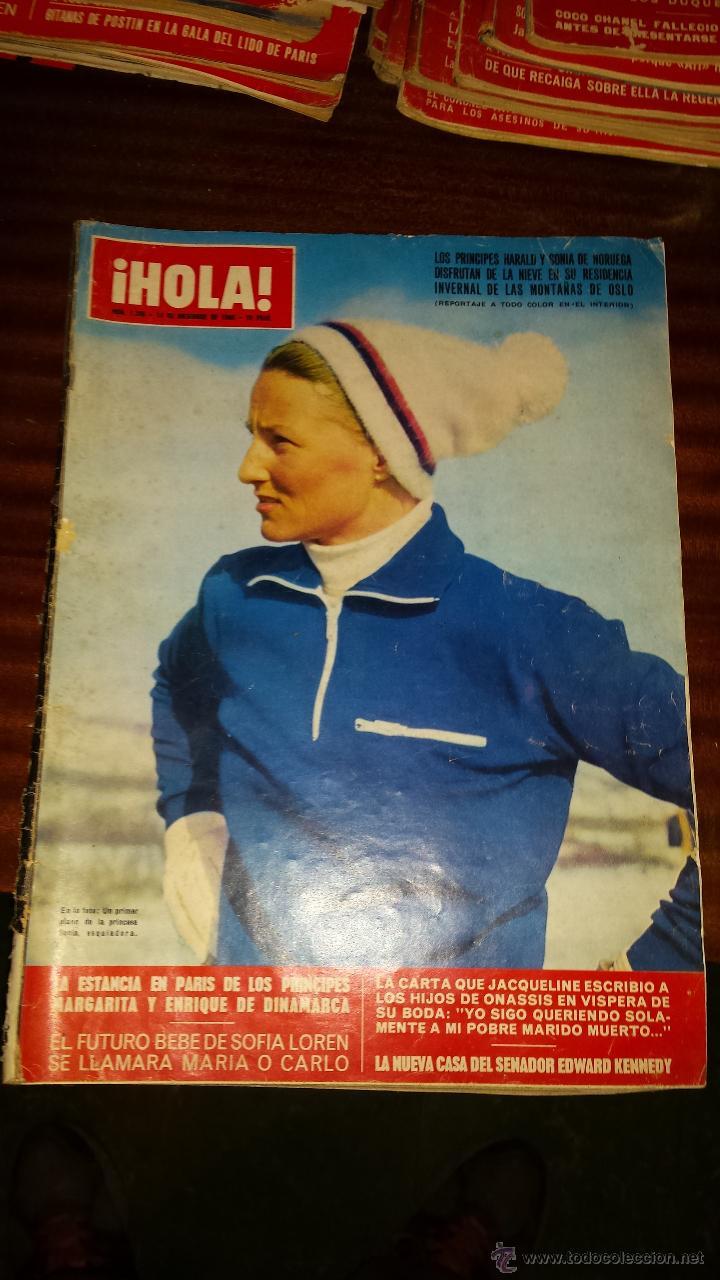 Coleccionismo de Revista Hola: Lote 114 revistas HOLA años 60, 70 y 3 de principios de los 80 - Ver detalles se venden sueltas 5€ - Foto 84 - 117723528