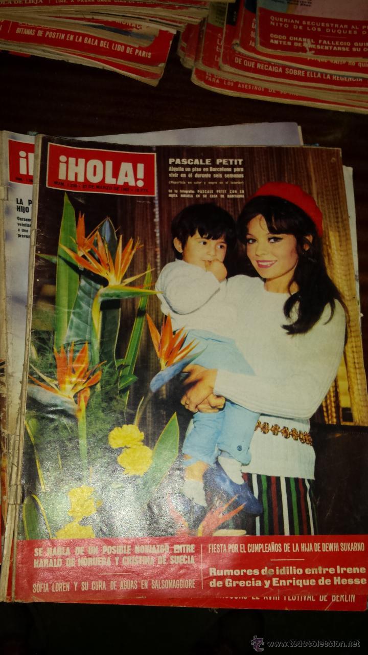 Coleccionismo de Revista Hola: Lote 114 revistas HOLA años 60, 70 y 3 de principios de los 80 - Ver detalles se venden sueltas 5€ - Foto 88 - 117723528