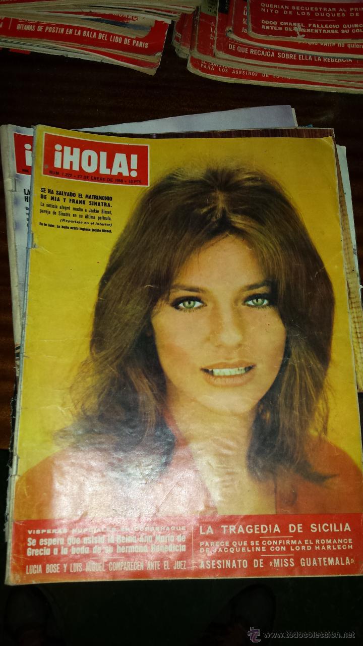 Coleccionismo de Revista Hola: Lote 114 revistas HOLA años 60, 70 y 3 de principios de los 80 - Ver detalles se venden sueltas 5€ - Foto 89 - 117723528