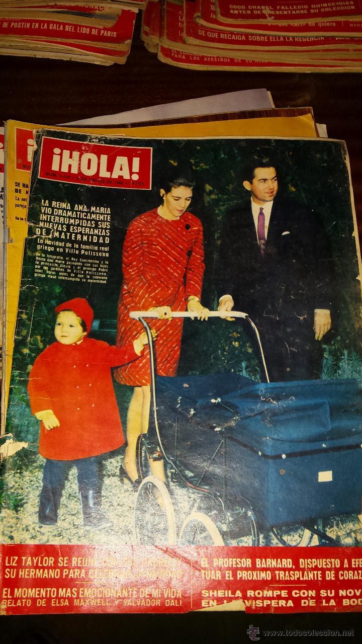 Coleccionismo de Revista Hola: Lote 114 revistas HOLA años 60, 70 y 3 de principios de los 80 - Ver detalles se venden sueltas 5€ - Foto 90 - 117723528