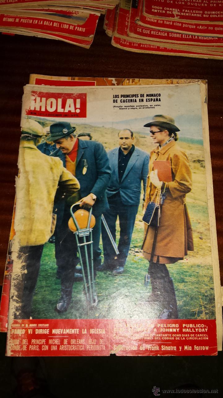 Coleccionismo de Revista Hola: Lote 114 revistas HOLA años 60, 70 y 3 de principios de los 80 - Ver detalles se venden sueltas 5€ - Foto 92 - 117723528