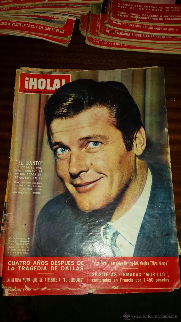 Coleccionismo de Revista Hola: Lote 114 revistas HOLA años 60, 70 y 3 de principios de los 80 - Ver detalles se venden sueltas 5€ - Foto 93 - 117723528