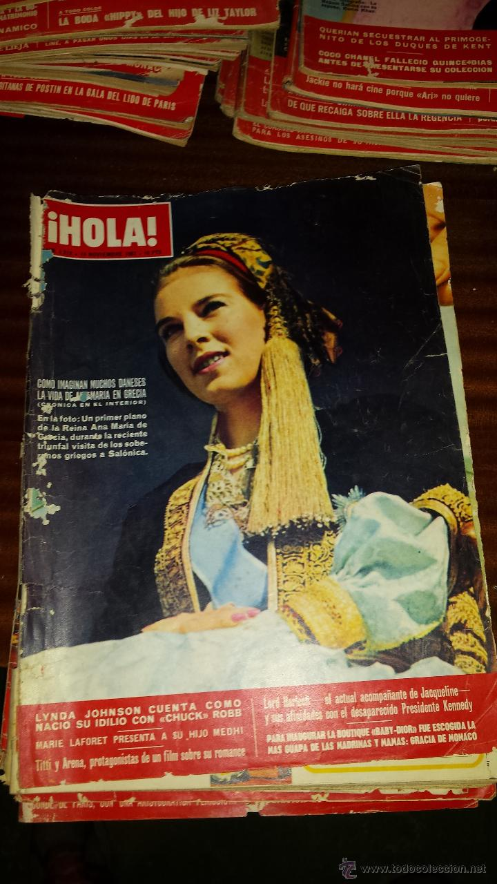Coleccionismo de Revista Hola: Lote 114 revistas HOLA años 60, 70 y 3 de principios de los 80 - Ver detalles se venden sueltas 5€ - Foto 94 - 117723528