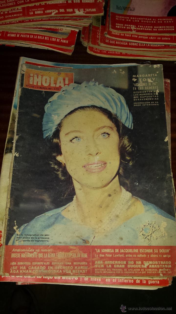 Coleccionismo de Revista Hola: Lote 114 revistas HOLA años 60, 70 y 3 de principios de los 80 - Ver detalles se venden sueltas 5€ - Foto 98 - 117723528
