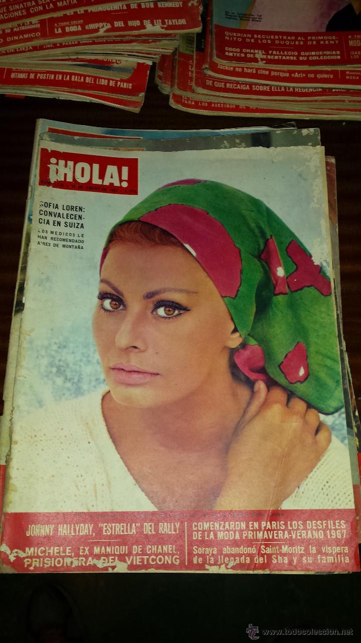 Coleccionismo de Revista Hola: Lote 114 revistas HOLA años 60, 70 y 3 de principios de los 80 - Ver detalles se venden sueltas 5€ - Foto 99 - 117723528