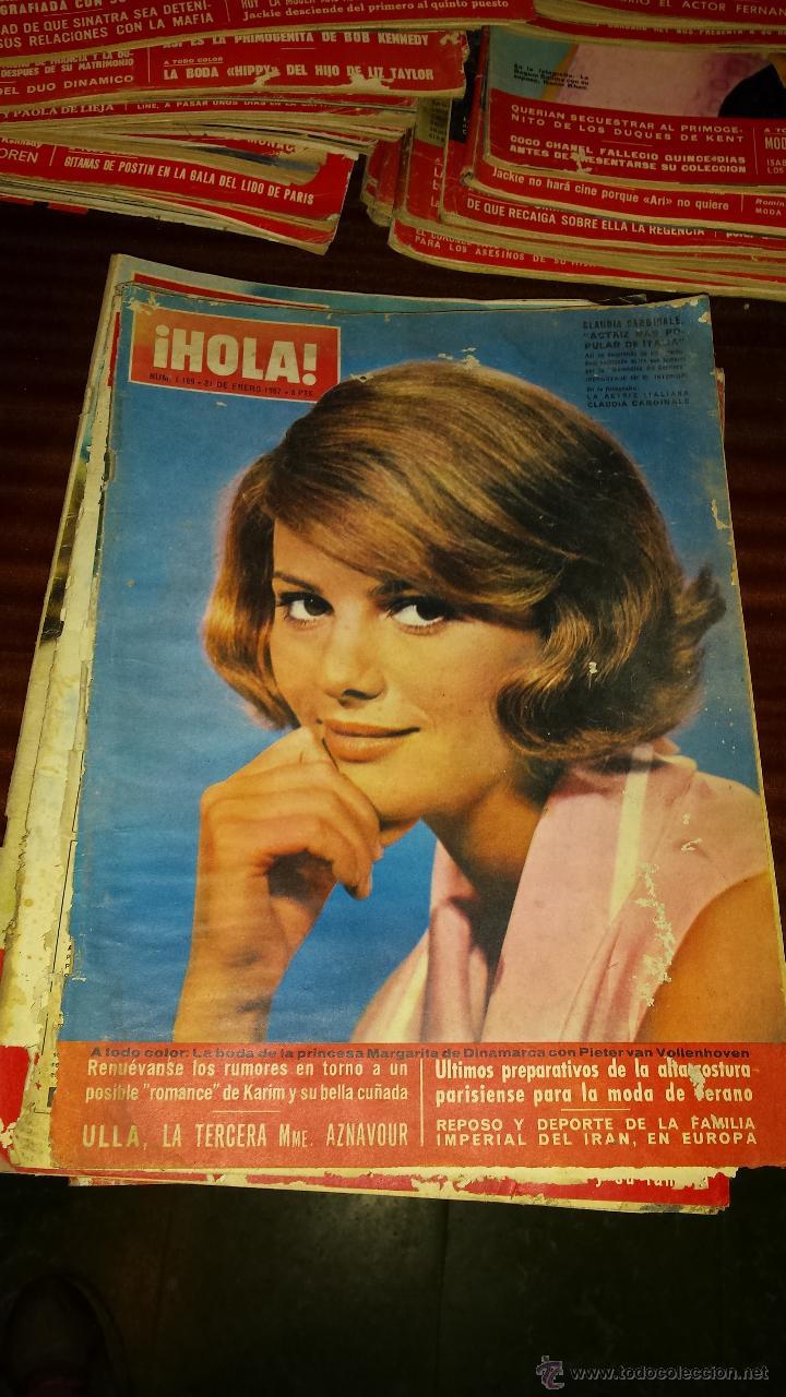 Coleccionismo de Revista Hola: Lote 114 revistas HOLA años 60, 70 y 3 de principios de los 80 - Ver detalles se venden sueltas 5€ - Foto 100 - 117723528