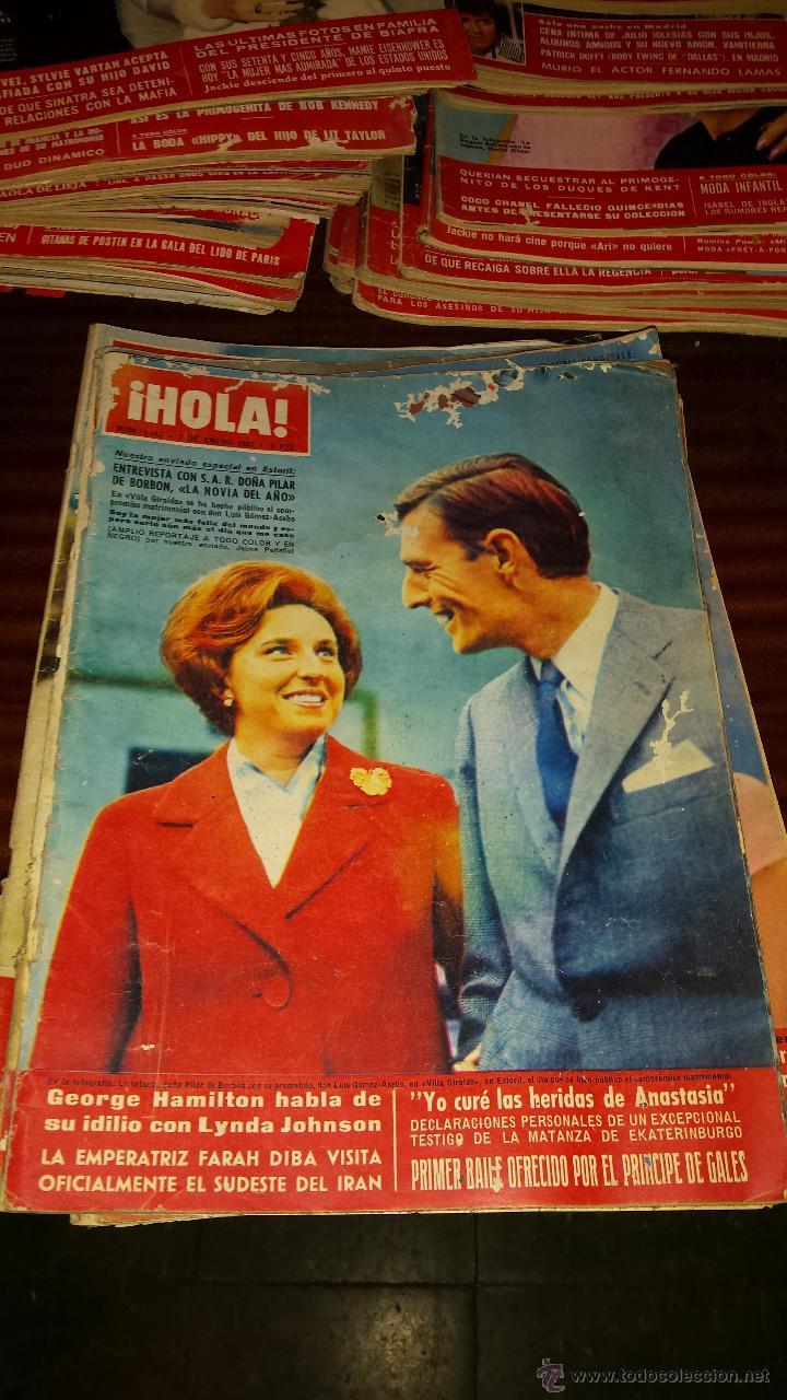 Coleccionismo de Revista Hola: Lote 114 revistas HOLA años 60, 70 y 3 de principios de los 80 - Ver detalles se venden sueltas 5€ - Foto 101 - 117723528