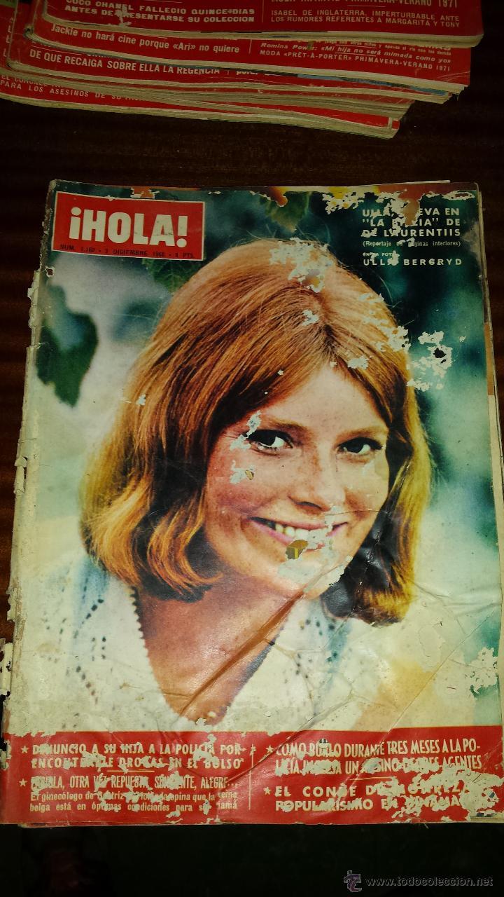Coleccionismo de Revista Hola: Lote 114 revistas HOLA años 60, 70 y 3 de principios de los 80 - Ver detalles se venden sueltas 5€ - Foto 103 - 117723528