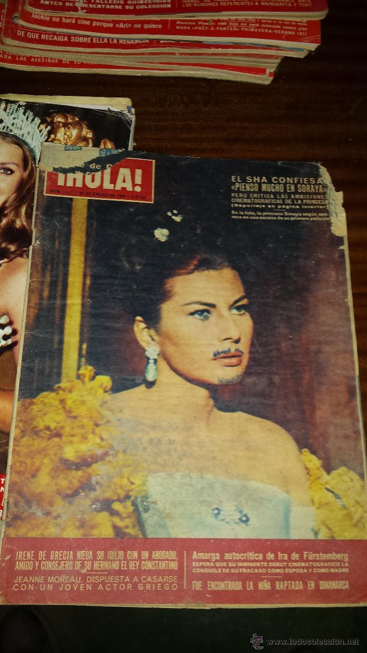 Coleccionismo de Revista Hola: Lote 114 revistas HOLA años 60, 70 y 3 de principios de los 80 - Ver detalles se venden sueltas 5€ - Foto 110 - 117723528