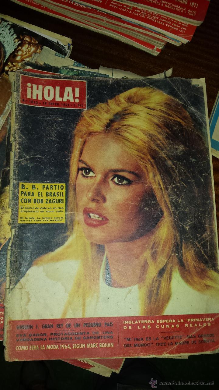 Coleccionismo de Revista Hola: Lote 114 revistas HOLA años 60, 70 y 3 de principios de los 80 - Ver detalles se venden sueltas 5€ - Foto 112 - 117723528