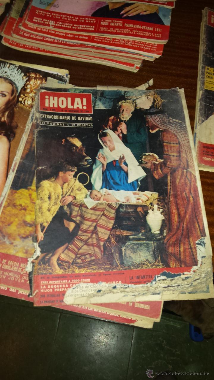Coleccionismo de Revista Hola: Lote 114 revistas HOLA años 60, 70 y 3 de principios de los 80 - Ver detalles se venden sueltas 5€ - Foto 114 - 117723528