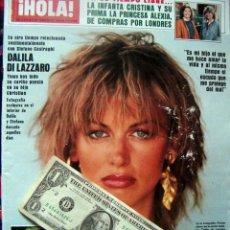 Coleccionismo de Revista Hola: HOLA / ROMINA POWER & YLENIA CARRISI, STEFANO CASIRAGHI, INFANTA CRISTINA, ROCIO JURADO, DI LAZZARO. Lote 46064404