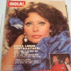 Coleccionismo de Revista Hola: URSULA ANDRESS- SOFIA LOREN- ISABEL PREYSLER. Lote 46191219