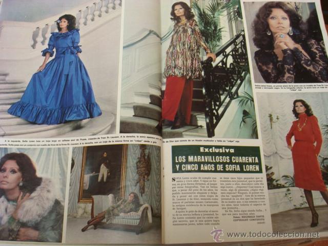 Coleccionismo de Revista Hola: SOFIA LOREN - Foto 3 - 46191219