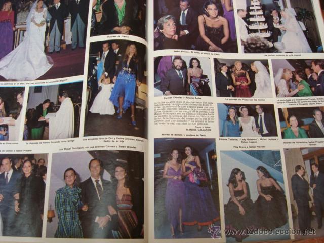 Coleccionismo de Revista Hola: ISABEL PREYSLER - Foto 4 - 46191219