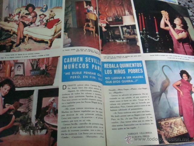 Coleccionismo de Revista Hola: CARMEN SEVILLA - Foto 2 - 46511941