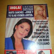 Coleccionismo de Revista Hola: ANTIGUA REVISTA HOLA ENERO 1996 - ISABEL PANTOJA. Lote 46580370