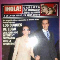 Coleccionismo de Revista Hola: HOLA Nº 3003 DUQUES DE LUGO,CARLOTA MONACO 2002. Lote 46668430